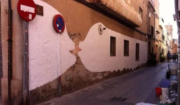 Pintada Popular al Carrer Sant Jaume