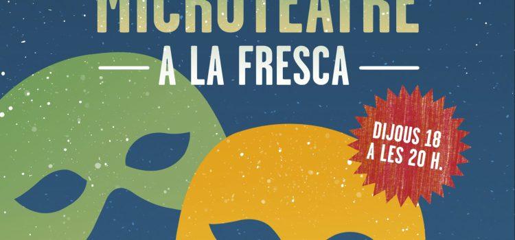 MICROTEATRE A LA FRESCA | VESPRES A L'ASSOCIACIÓ