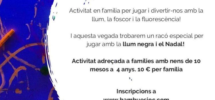 LLUM I FLUORESCÈNCIA | ACTIVITAT FAMILIAR