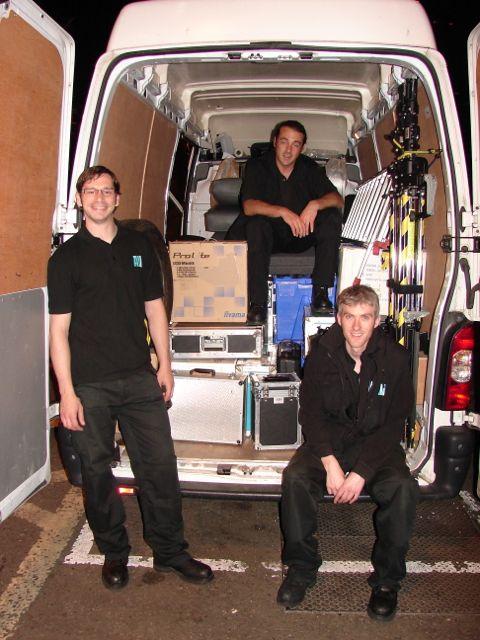 Brian, Derek and Paul