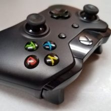 Photo of an XBox One controller