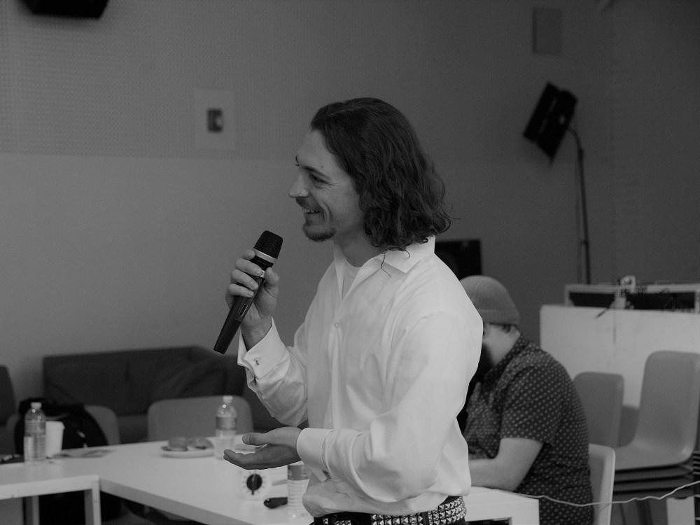Avdi speaking at POODNYC