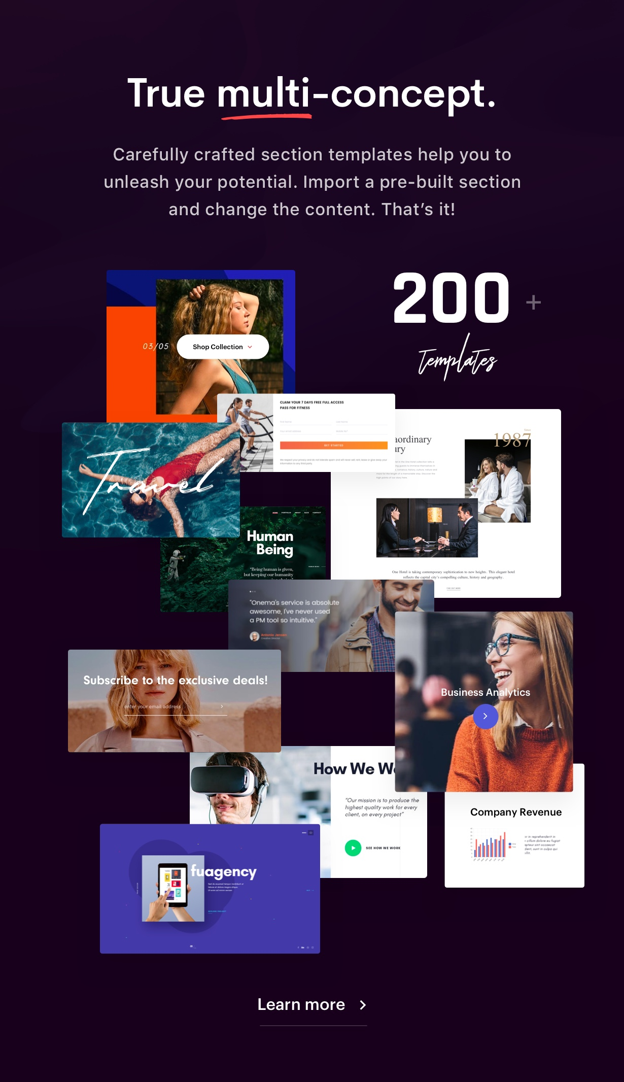 Ave - Responsive Multi-Purpose WordPress Theme - 11