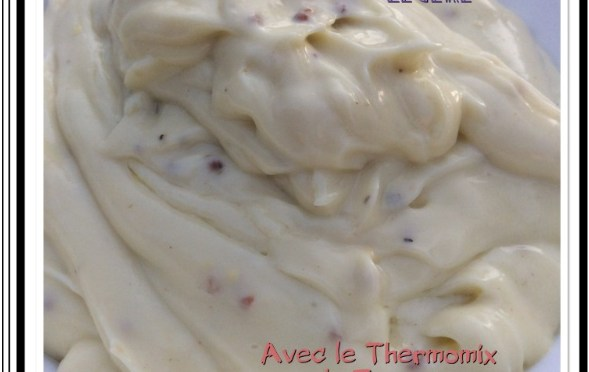 Mayonnaise légère  thermomix oeuf entier