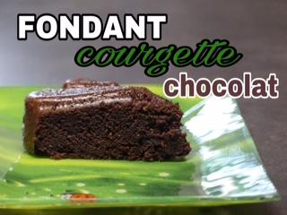 Gateau au chocolat courgette au thermomix ou sans robot. Recette avec ou sans gluten ni lait ; au choix