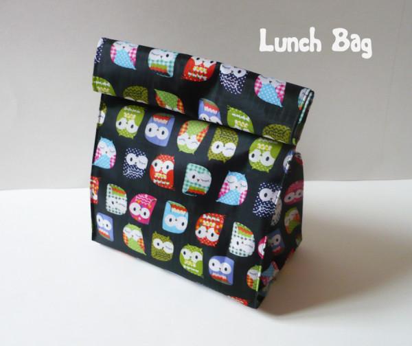 mon lunch bag hiboux avec deux z. Black Bedroom Furniture Sets. Home Design Ideas