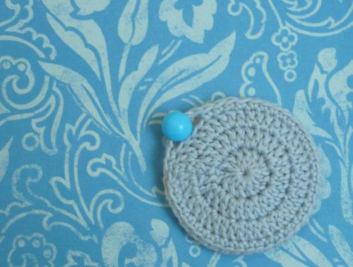 mini porte monnaie rond crochet tutoriel