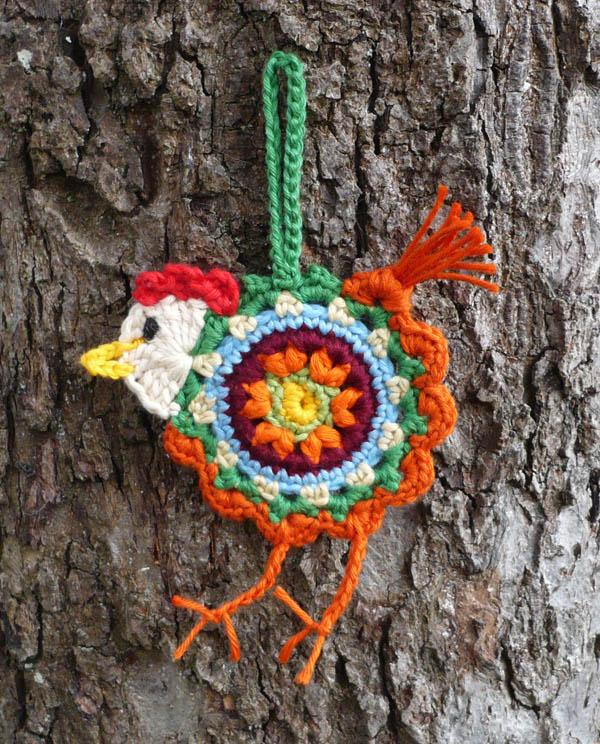 poule crochet