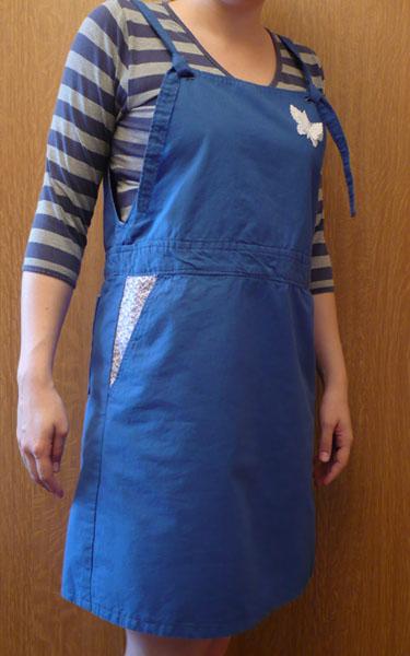 salopette robe coudre c'est facile japonais