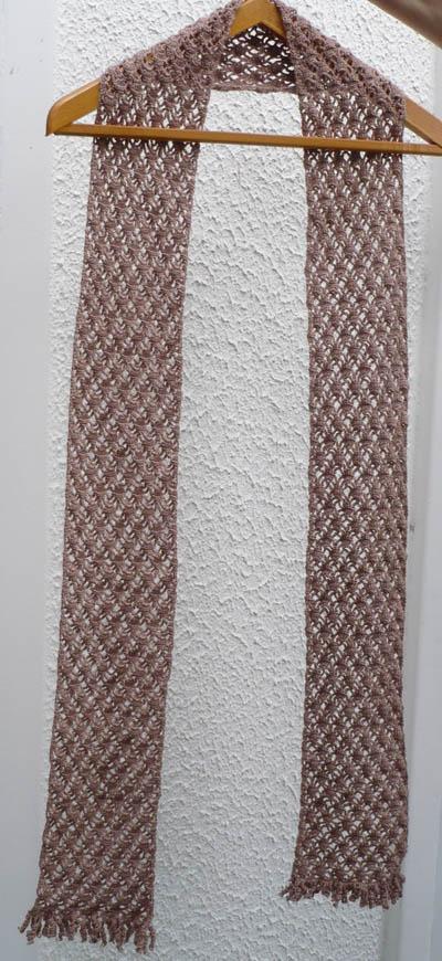 écharpe dentelle crochet 2