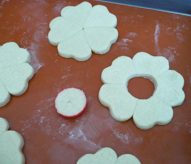 biscuits vitraux grosse fleur tuto