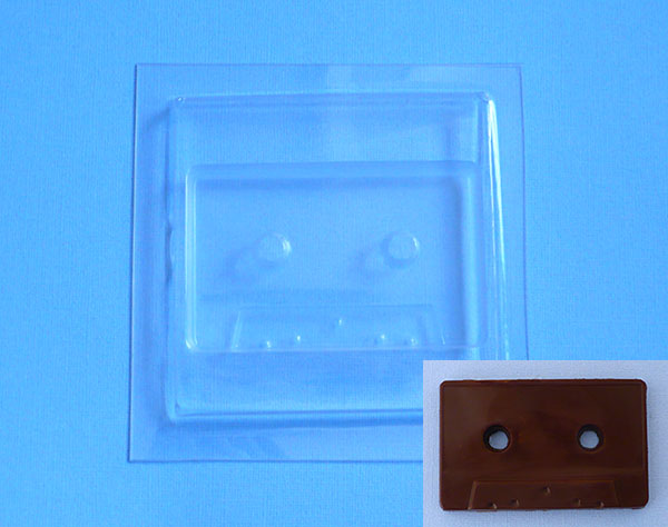 moule chocolat cassette audio G