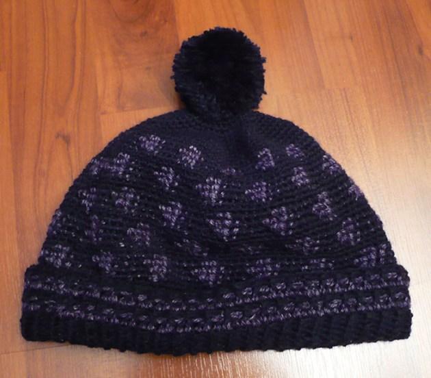 bonnet homme crochet simply 2