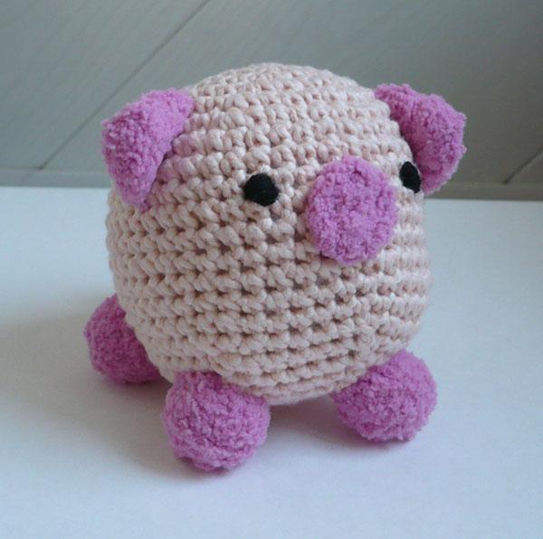 cochon crochet 3