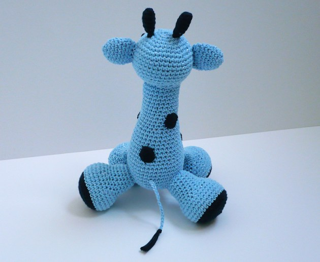 peluche girafe crochet