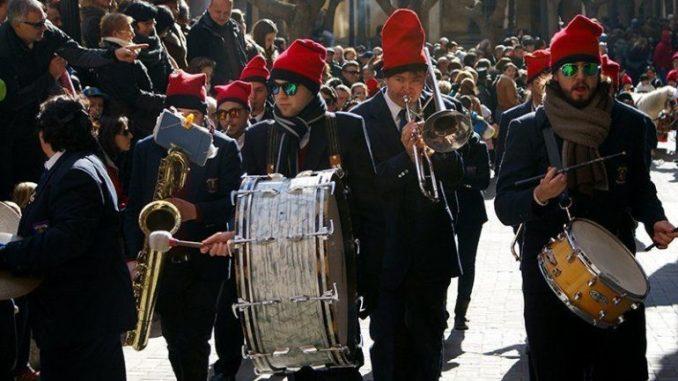 Encamisada de Falset banda de música