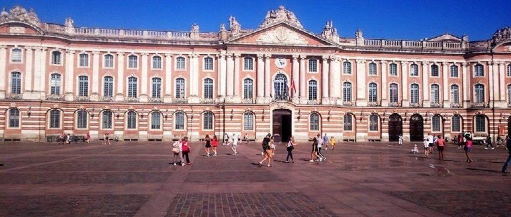 Plaza del Capitolio, en Tolosa