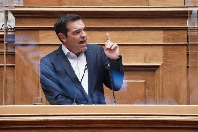 Alexis tsipras; parliament; parliamentary group; syriza; politician; politics; speech; Αλέξης Τσίπρας; Κοινοβουλευτική ομάδα; Κοινοβούλιο; ΣΥΡΙΖΑ; ομιλία; πολιτική; πολιτικός; συνεδρίαση; ΚΟ ΣΥΡΙΖΑ; χειρονομία; gesture;