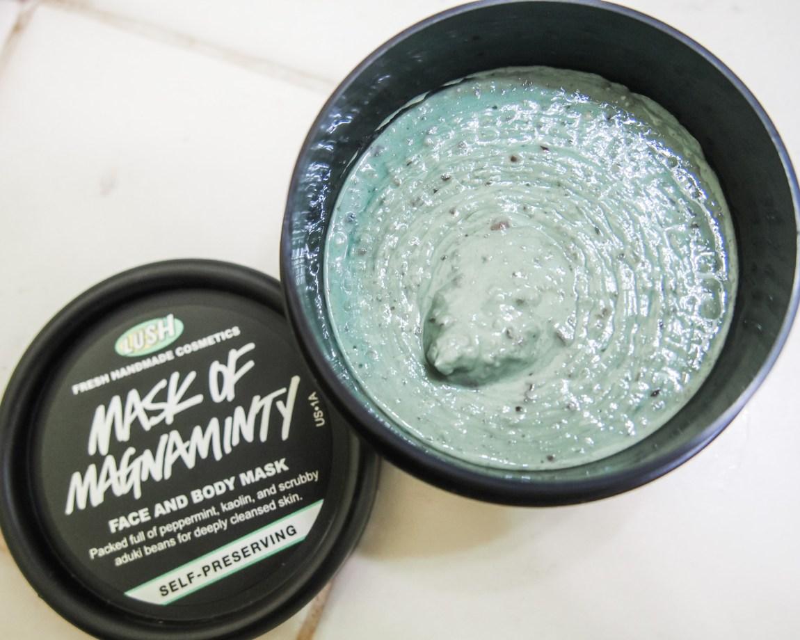 Lush Cosmetics Mask of Magnaminty