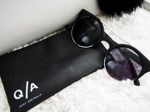 What's in My Purse? Kate Spade Cedar Street Edition - Quay Australia Livnow Sunglasses