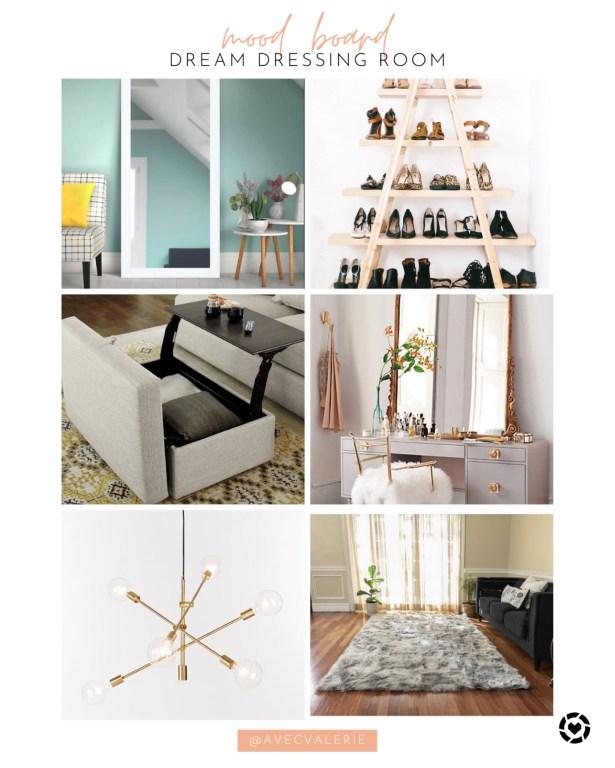 Dream Dressing Room Mood Board