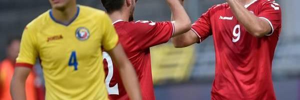 Fodbold: Danmark/Rumænien