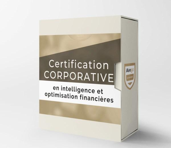 Certification corporative optimisation financieres