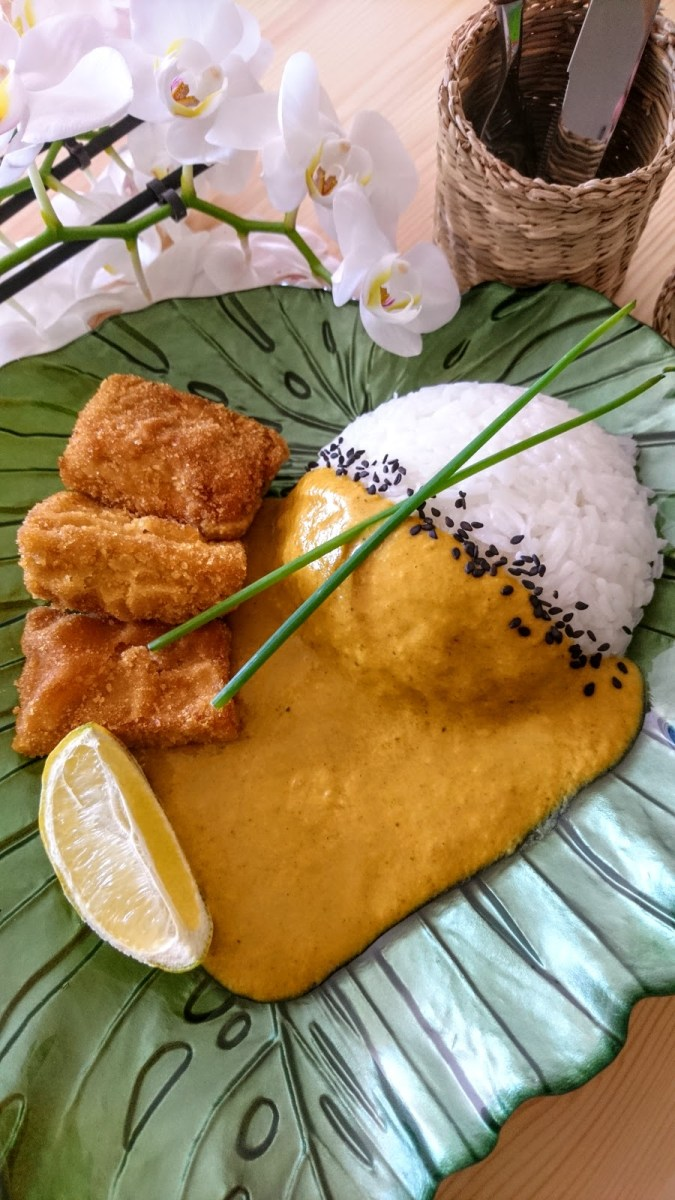 Easy and Quick Curry with Katsu Tofu