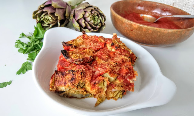 Artichoke Parmigiana Gluten Free
