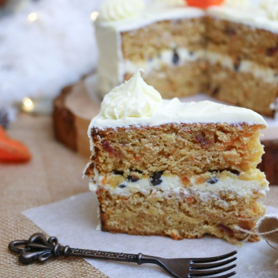 Carrot Cake with a Twist