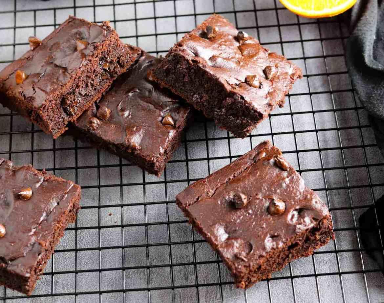 Brownie al Cioccolato e Arancia (Oil-Free!)