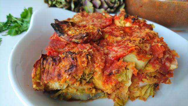 Parmigiana di Carciofi Senza Glutine