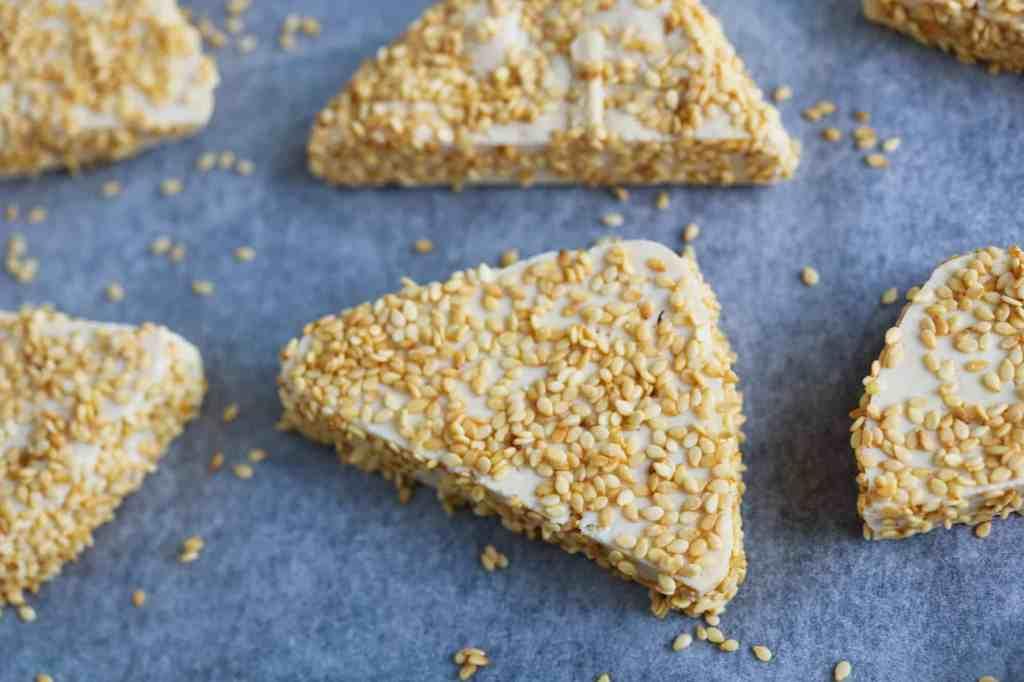 Tofu Croccante al Sesamo pre cottura