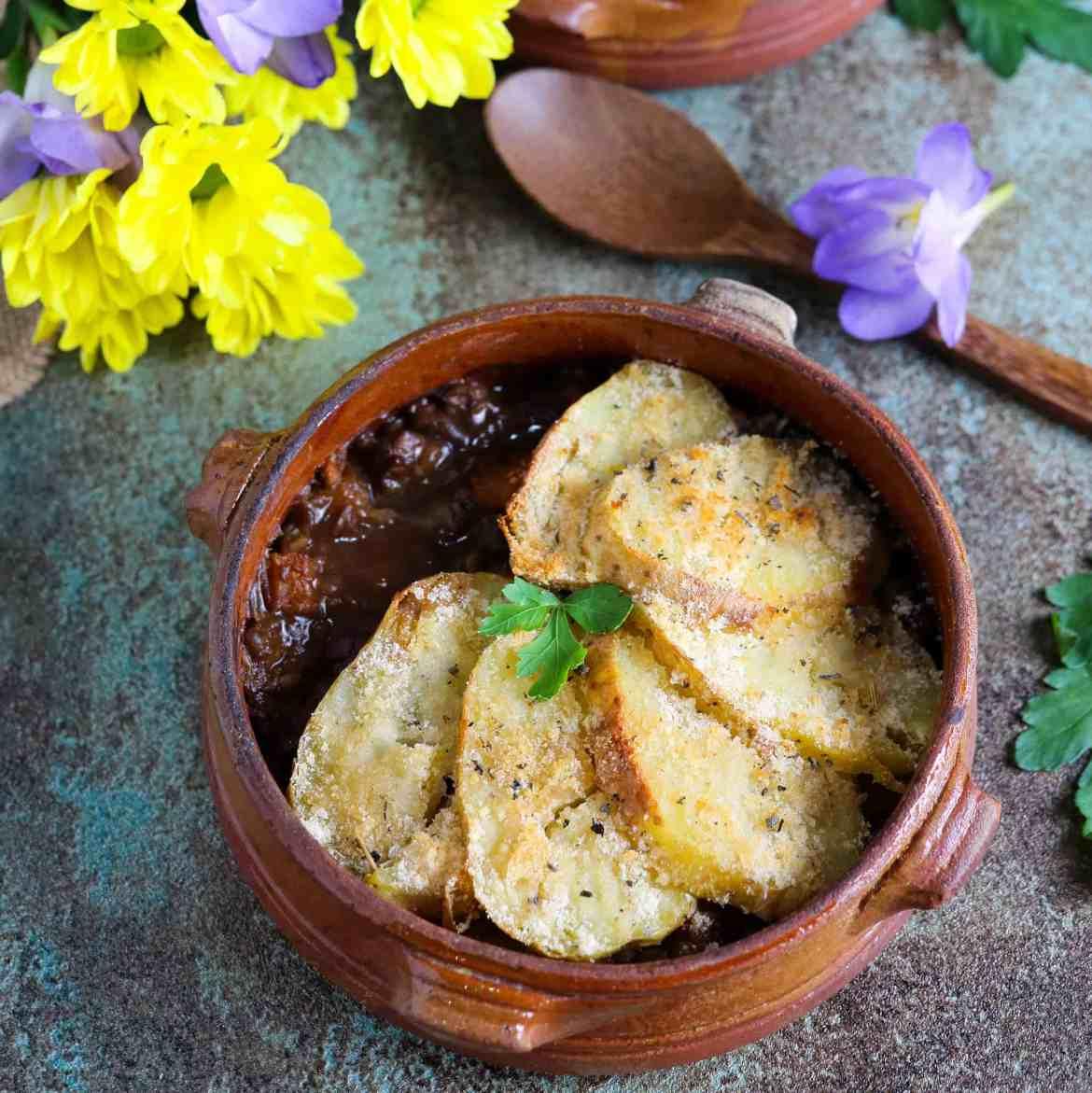 Pie di Lenticchie e Zucca