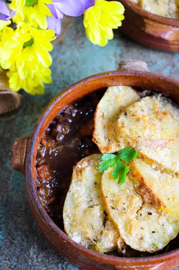 Pie di Lenticchie e Zucca dettaglio
