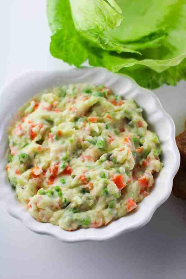 insalata russa vegan