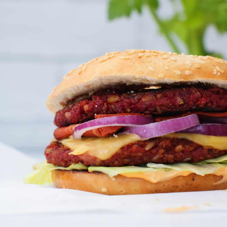 Vegan Burger di Freekeh