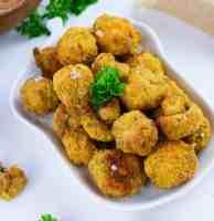 funghi all'aglio croccanti vegan