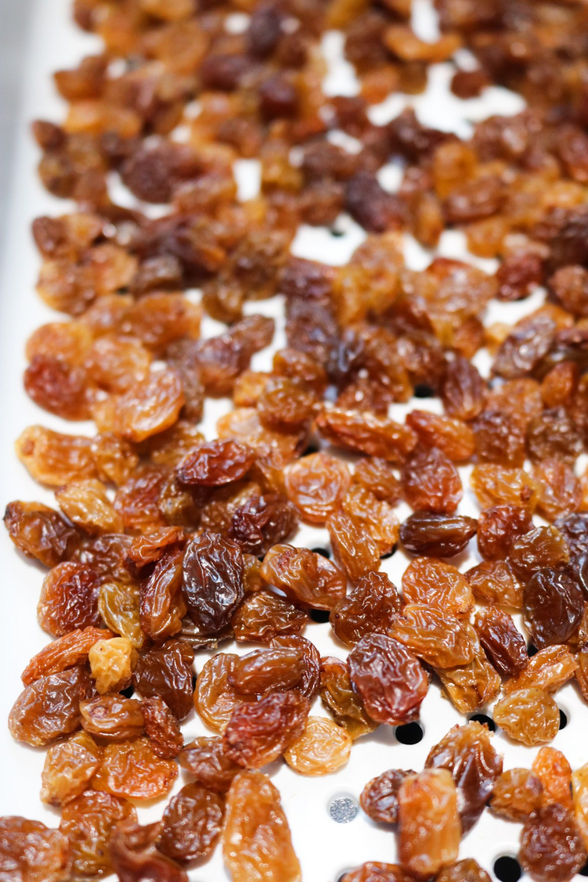 soaked raisins