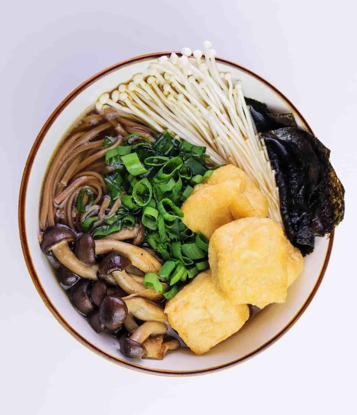 Ramen Vegano ai Funghi
