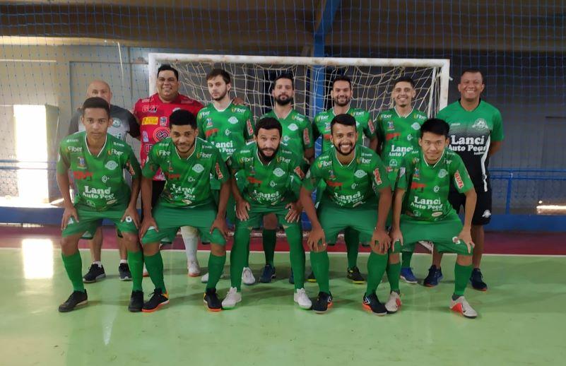 """Seleção de Futsal de Paranavaí na """"semifinal"""" dos Jogos Abertos"""