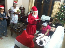 Christmas 2013 with Dr. Jessica