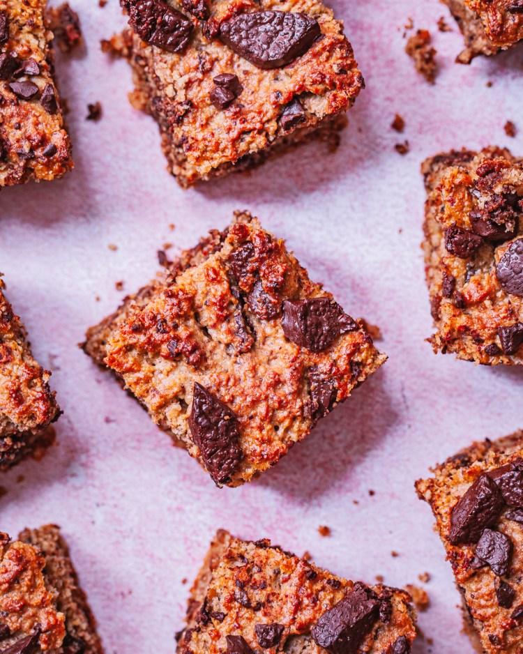 Brownie saludable de tahini, sin azúcar ni mantequilla