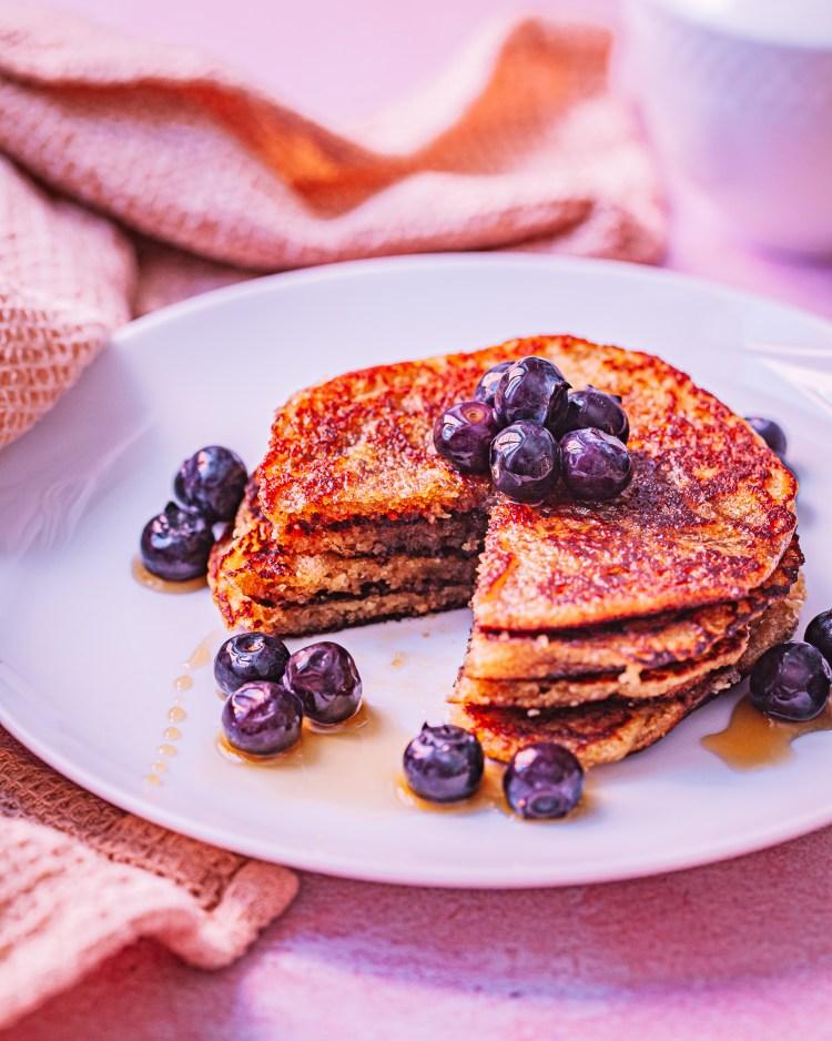 Tortitas con harina de almendras: desayuno sin gluten