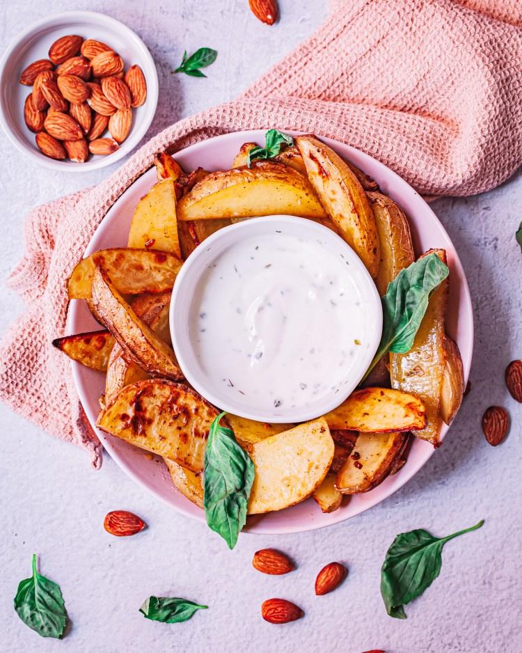 Patatas cajún: patatas gajo al horno