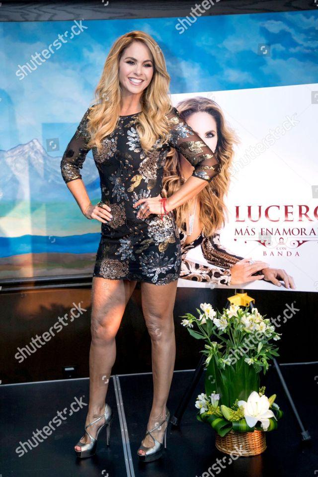 Lucero 'Mas Enamorada' album launch, Presidente Hotel, Mexico City, Mexico - 10 May 2018