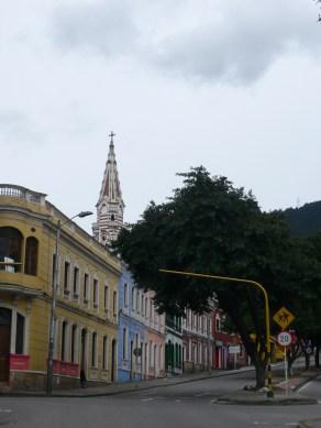 Walking through La Candelaria