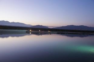 An on-site reservoir