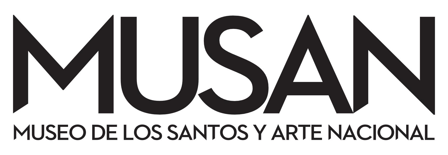 MUSAN logo NEGRO