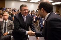 Foto: Nuno Ferreira Santos, 02/07/2015, Jorge Coelho na apresentação do livro de Miguel Relvas